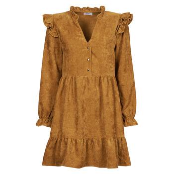 Kleidung Damen Kurze Kleider Betty London PINEA Camel