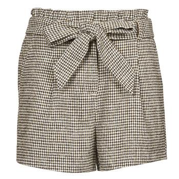 Kleidung Damen Shorts / Bermudas Betty London PIUBELLA Schwarz / Naturfarben