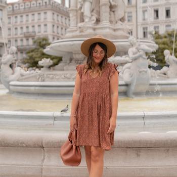 Kleidung Damen Kurze Kleider Céleste DAHLIA Multicolor