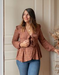 Kleidung Damen Tops / Blusen Céleste ROSSIGNOL Multicolor