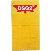 Home Damen Handtuch und Waschlappen Dsquared D7P001930 Gelb