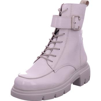 Schuhe Damen Stiefel Paul Green 0069-9879-029/Schnürstiefelett WHITE/OFFW 1