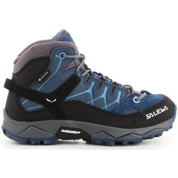 Schuhe Kinder Sneaker High Salewa JR Alp Trainer Mid Gtx Dunkelblau