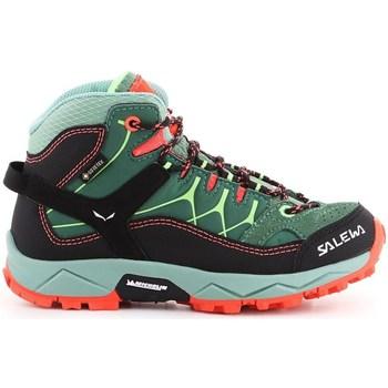 Schuhe Kinder Sneaker High Salewa JR Alp Trainer Mid Gtx Grün