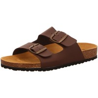 Schuhe Herren Pantoletten / Clogs Brütting Offene 560005 braun
