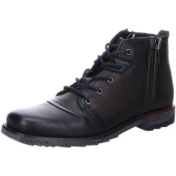 Schuhe Herren Stiefel Bugatti Saturino 331A05343200-1100 grau