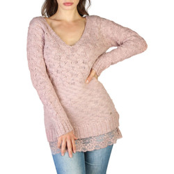 Kleidung Damen Pullover Yes Zee - m023_le00 Rose
