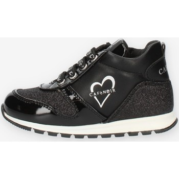 Schuhe Mädchen Sneaker High Café Noir C1530 Schwarz