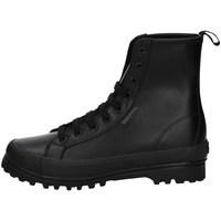 Schuhe Damen Low Boots Superga S7114DW-A0Z SCHWARZ