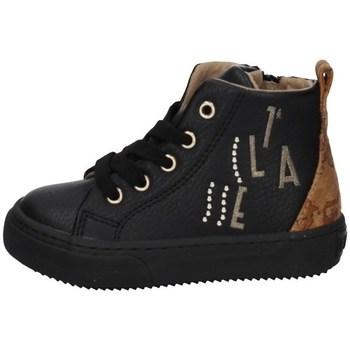 Schuhe Mädchen Sneaker High Alviero Martini 0980/0208 SCHWARZ