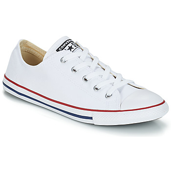 Sneaker Converse ALL STAR DAINTY OX Weiss / Rot 350x350
