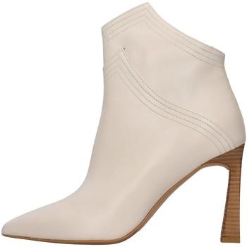 Schuhe Damen Ankle Boots Albano 1007A BEIGE