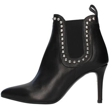 Schuhe Damen Low Boots Albano 1078A SCHWARZ
