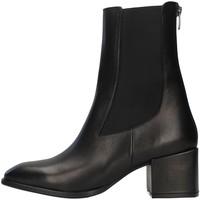 Schuhe Damen Low Boots Albano 1056A SCHWARZ