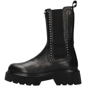 Schuhe Damen Low Boots Albano 2023A SCHWARZ