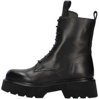 Schuhe Damen Low Boots Albano 1083A SCHWARZ