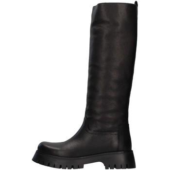 Schuhe Damen Klassische Stiefel Albano 1075A SCHWARZ