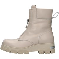 Schuhe Damen Low Boots Albano 1084A BEIGE