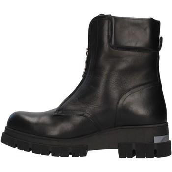 Schuhe Damen Low Boots Albano 1084A SCHWARZ