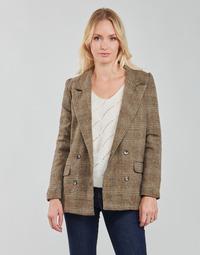 Kleidung Damen Jacken / Blazers Betty London PANOPI Braun