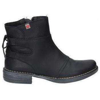 Schuhe Damen Low Boots Cucuruchas BOTINES  22142 MODA JOVEN NEGRO Noir