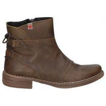 Schuhe Damen Low Boots Cucuruchas BOTINES  22142 MODA JOVEN MARRON Noir