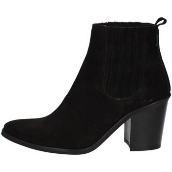 Schuhe Damen Low Boots Dakota Boots DKT 24 NE SCHWARZ