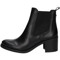 Schuhe Damen Low Boots Dakota Boots C 6 TXN SCHWARZ