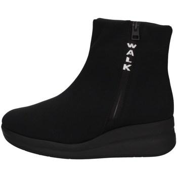 Schuhe Damen Sneaker High Melluso R25628A SCHWARZ