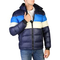 Kleidung Herren Daunenjacken Alessandro Dell'acqua Alessandro Dell''Acqua - AD8908 Blau