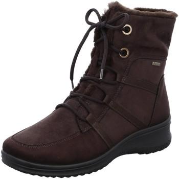 Schuhe Damen Stiefel Ara Stiefeletten MÜNCHEN 12-48554-64 braun