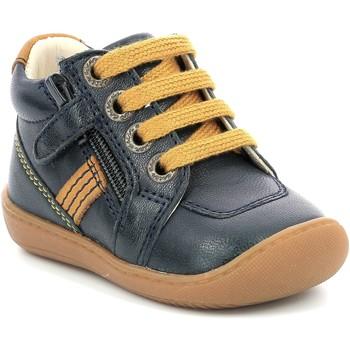 Schuhe Mädchen Boots Aster Chaussures fille  Piasap bleu marine/orange clair