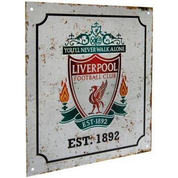 Accessoires Sportzubehör Liverpool Fc  Weiss