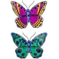Home Statuetten und Figuren Signes Grimalt Schmetterlinge Abbildung 2 Einheiten Multicolor