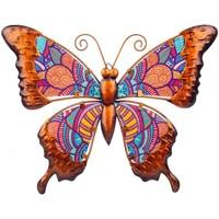 Home Statuetten und Figuren Signes Grimalt Schmetterlingsfigur Naranja
