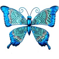 Home Statuetten und Figuren Signes Grimalt Schmetterlingsfigur Azul
