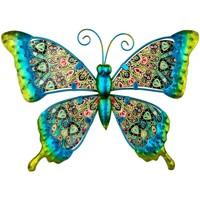 Home Statuetten und Figuren Signes Grimalt Schmetterlingsfigur Verde