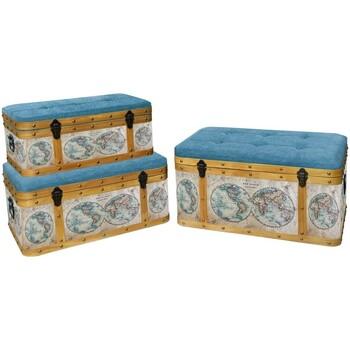 Home Koffer, Aufbewahrungsboxen Signes Grimalt Baul Set 3 U Marrón