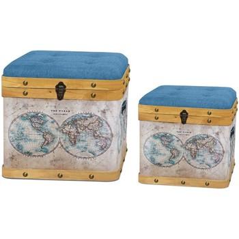 Home Koffer, Aufbewahrungsboxen Signes Grimalt Baul Set 2 U Marrón