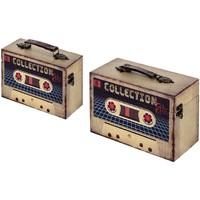 Home Koffer, Aufbewahrungsboxen Signes Grimalt Kästen Set 2 He Beige