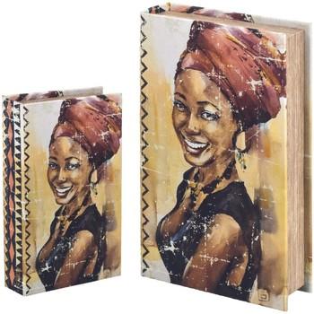 Home Koffer, Aufbewahrungsboxen Signes Grimalt Bücherkiste Set 2 U Beige