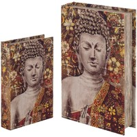 Home Koffer, Aufbewahrungsboxen Signes Grimalt Bücherkiste Set 2 U Rojo