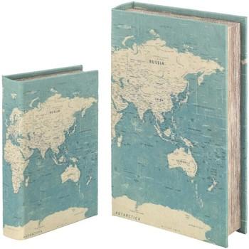 Home Koffer, Aufbewahrungsboxen Signes Grimalt Bücherkiste Set 2 U Verde