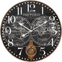 Home Uhren Signes Grimalt Wanduhr 58 Cm. Negro