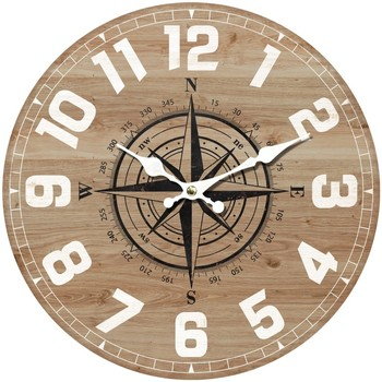 Home Uhren Signes Grimalt Wanduhr 34 Cm. Marrón