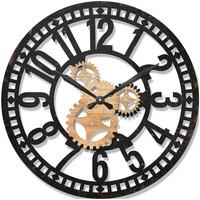 Home Uhren Signes Grimalt Wanduhr 60 Cm. Negro