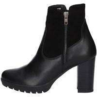 Schuhe Damen Ankle Boots Valleverde 28743 SCHWARZ