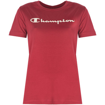 Kleidung Damen T-Shirts Champion  Rot