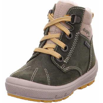 Schuhe Jungen Boots Superfit 1 006309 7000 Jungen Lauflernbootie Groovy Grün Grün