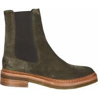 Schuhe Damen Boots Shabbies Amsterdam Stiefelette Grün
